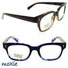 READING GLASSES Geek HIPSTER READERS Brown, Wine, Blue NEW ARRIVAL moXie NWT