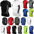 New Mens Compression Base Layer Tights Tops Thermal Under Skins T-Shirt Gear Gym
