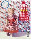 KWIK SEW PATTERN TODDLER'S DRESS 2 STYLES CASUAL or DRESSY SIZE T1-T4 # K134