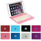 Foldable Case Cover with Bluetooth Rechargeable Keyboard For Apple iPad Mini 1