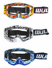 Goggle Adult Geo Wulfsport Motocross MX Dirtbike Pit ATV Quad Bike AntiFog Ski
