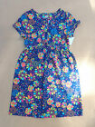 GIRLS SIZE MEDIUM OR LARGE J.KHAKI NAVY BLUE/MULTI-COLOR FLORAL DRESS (NEW) $38)