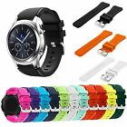 22MM Sports Silicone Strap Wrist Band For Samsung Gear S3 Frontier Classic Watch