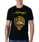 Ed Hardy Tiger Men Black T-shirt