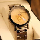 Fashion new Women's Watch Stainless Steel Quartz Analog Wrist Watch Armbanduhr