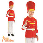 Child Tin Toy Soldier Costume Boys Nut Cracker Book Week Day Fancy Dress Outfit