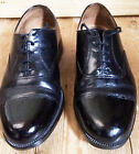 Mens Parade Shoes Black Leather Toe Cap RAF Uniform Cadet British Army Surplus
