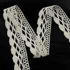 Купить 5m -10Yd Vintage Cotton Crochet Lace Trim Wedding Bridal Ribbon Sewing Craft New