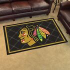 NHL 4' X 6' INDOOR RUG - CHOOSE YOUR FAVORITE TEAM!!