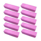 5/10 Pink Buffing Sanding Buffer Block Files Acrylic Nail Art  Manicure New FO