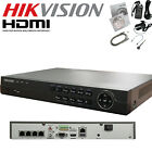 4 CHANNEL HIKVISION NVR POE IP CCTV 1080P FULL HD UP TO 5MP SUPPORT HDMI P2P