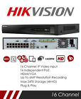 HIKVISION CCTV NVR 4CH 8CH 16CH TURBO IP 1080P CHANNEL 7000 HIGH DEFINITION POE