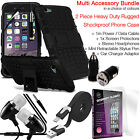 Heavy Duty Tough Shockproof Phone Case Cover✔Quality Value Multi Accessory Pack