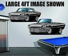 1965 Ford Thunderbird 390 Automatic Wall Poster Decal Man Cave Graphics Garage