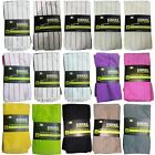 4 Pack Microfibre Kitchen Tea Towel So Soft Extra Absorbency Solid & Stripe
