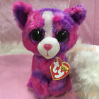 TY BEANIES BOOS 2015 Dakota Pink dog Stuffed toy DEFECT ON EYE ON SALE!!