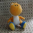 "Yoshi Orange color from  Super Mario Bors. PLUSH DOLL 6"" SOFT TOY"