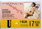 PRINCE-Lovesexy Tour - 17 Augustus 1988, Rotterdam CONCERT TICKET (1988) Mojo Ho