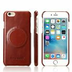 New Genuine Leather Phone Case Cover For iPhone 6 6S / 6S Plus Black Brown Red