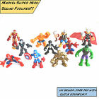 Imaginext,Marvel Super Hero Squad & Playskool Heroes Action Figures. Free UK P&P