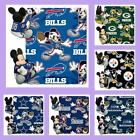 NFL & Disney Licensed Mickey Mouse Hugger Throw Blanket - Choose Your Team