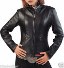 New Vintage Collection Hot Lambskin Leather Classic Jacket For Women W- 644
