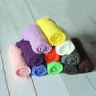 Newborn Baby Photography Props Blanket Rayon Stretch Knit Wraps 40*150cm LO