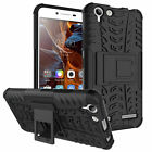 Heavy Duty Armor Hybrid ShockProof Silicon Hard Case Cover For Lenovo K5 /Lemon3