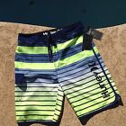 HURLEY MENS BOARDSHORTS - BLUE - GREEN Size Variety