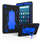 "For 2015/2017 Amazon Fire 7 7.0"" Tablet Hybrid Heavy Duty Kick stand Case Cover"