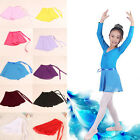 Внешний вид - Toddler Kids Girls Gymnastics Ballet Dance Skate Wrap Scarf Leotard Tutu Skirt