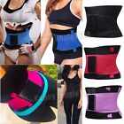 US Unisex Tummy Girdle Belly Belt Waist Training Corset Cincher Slim Weight Loss