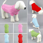 Pet Dog Puppy Cat Warm Sweater Clothes Winter Autumn Knitwear Apparel Costumes