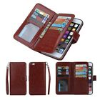 New Wristlet Handbag PU Leather Card Slot Wallet Case Cover For iPhone 6 6s Plus