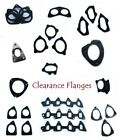 Stock Clearance Mild Steel Flange Storage Rust Cheap Flanges
