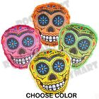 """8"""" Candy Skull Pillow (4 Color Options) RM3301"""
