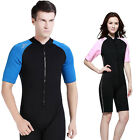 New Sbart1006A 2mm Anti-UV short sleeve diving Wetsuits onepiece front zipper