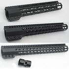 12''/13.5''/15'' Black Clamping Mount Free Float Rail Handguard Free Shipping