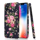Hot Fashion Flower Pattern Back Phone Case Cover For iphone 7 6 6S Plus Samsung