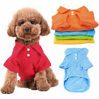 Pet Puppy Shirt Small Dog Cat Pet Coat Clothes Costume Apparel T-Shirt XS-XL