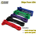 Sporting Goods - POWER GUIDANCE Pull Up Assist Bands For Resistance Body Stretching, Powerlifting