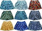 "Mens Thai Silk Paisley Loose Boxer Shorts / 32""- 34"" / Sleepware / Underwear"