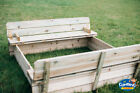 Wooden kids sandpit, Square, picnic, sand, table,outdoor, garden,octogonal,fun