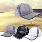 New Men Women Sport Baseball Mesh Hat Running Visor Cap Summer Outdoor Golf Hat
