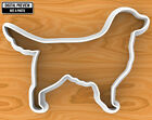Golden Retriever Dog Cookie Cutter, Selectable sizes
