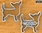 Smooth Coat Chihuahua Dog Cookie Cutter, Selectable sizes