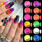Nail Art Glitter Powder Dust UV Gel Acrylic Powder Pigment Sequins Christmas Tip