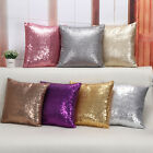 New Small Sequins Pillow Case Cushion Covers Glitter Sofa Pillow Case 7 Colors