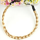 Fashion Boho Women Girls Braided Plaited Headband Hairband Hair Accessories