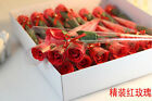 Artificial Soap Flower Rose Wedding Bridal Bouquet Bunch Valentine's day Gift
